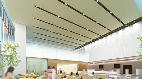新築移転工事|当院について|八潮中央総合病院