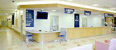 笛吹中央病院受付