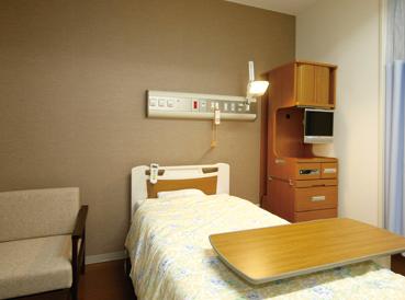 柏厚生総合病院病室