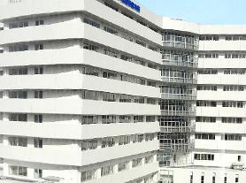 大阪暁明館病院外観