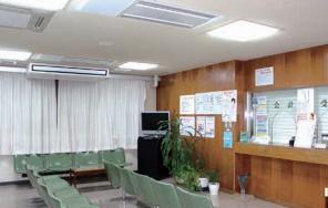 板倉病院受付