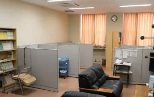 大川病院医局室