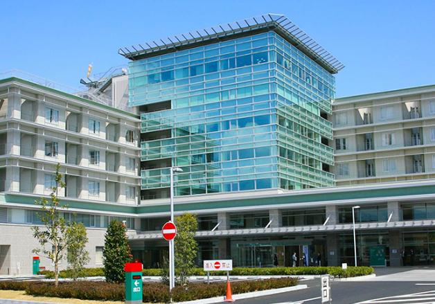 榛原総合病院外観