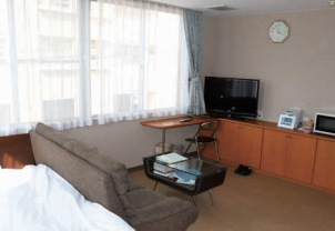 大川病院当直室