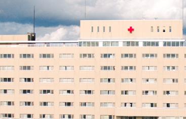 伊達赤十字病院外観