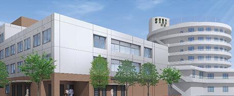 新座志木中央総合病院外観